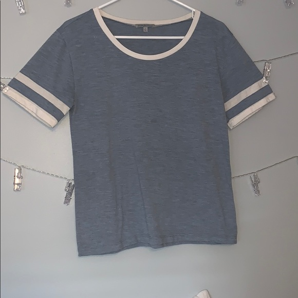 Charlotte Russe Tops - Charlotte Russe Blue Tee-shirt